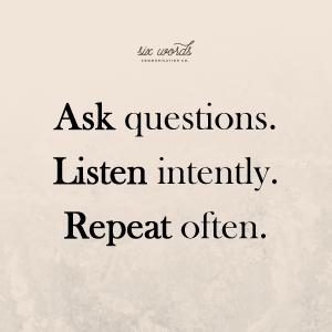 communicate better - Six Words Communication