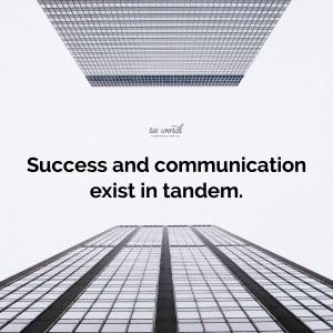 six word story - six words communication