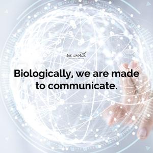 biology, six word story - six words communication
