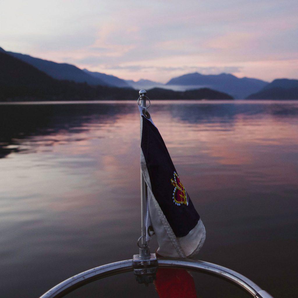 Wild Salmon Count sunset photo