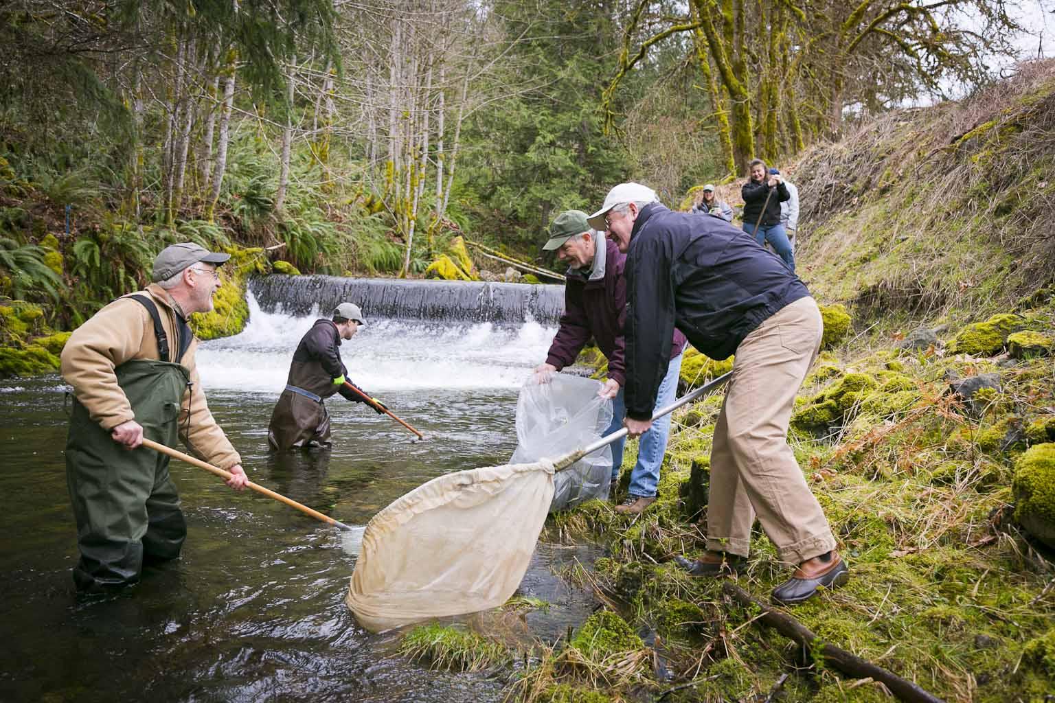 Pacific Salmon Foundation Fishing River